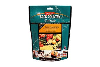 Back Country Cuisine Pasta Vegetariano