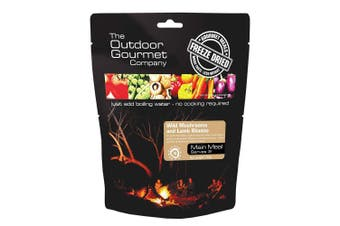 Outdoor Gourmet Wild Mush and Lamb Risotto (Double)