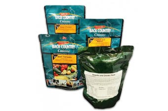 Back Country Cuisine Ration Pack - Adventure