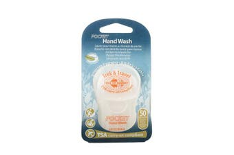 Paper Travel Soap - Hand Wash