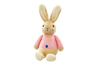 Beatrix Potter Flopsy Made With Love Knit Character