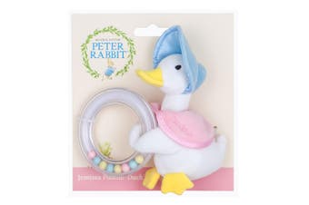 Beatrix Potter Jemima Ring Rattle