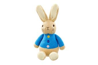 Beatrix Potter Peter Made With Love Knit Character