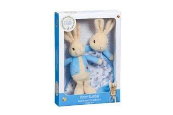 Beatrix Potter Peter Rabbit Rattle & Comfort Blanket Set