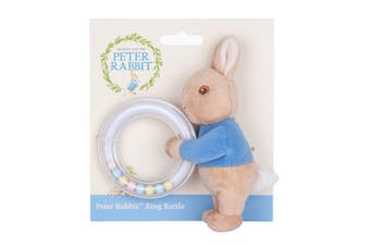 Beatrix Potter Peter Rabbit Ring Rattle