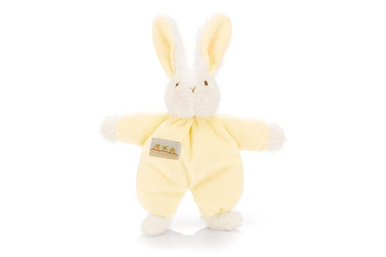 Bunnies By The Bay Sweet Hops Bunny Rattle - Yellow