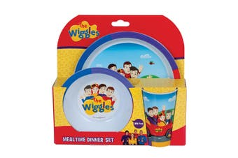 Wiggles 3-Piece Dinner Set
