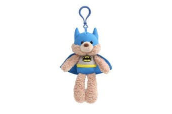 DC Gund Fuzzy Backpack Clip - Batman