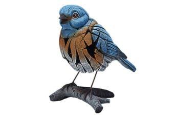 Edge Sculpture Figure - Westrn Bluebird