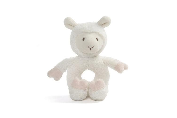 Gund Baby Toothpick Llama Plush - Ring Rattle