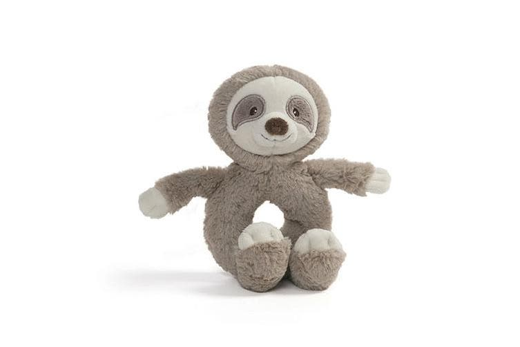 Gund Baby Toothpick Sloth Plush - Ring Rattle
