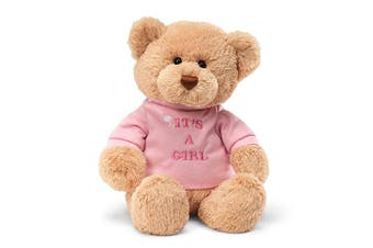 Gund Message Bear - It's A Girl