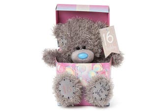 "Me To You 7"" Birthday Bear In Box - 16th"