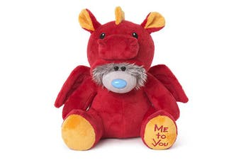 "Me To You 9"" Tatty Teddy Dressed As - Red Dragon"