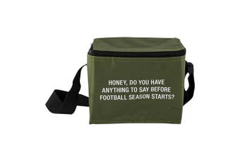Say What Small Cooler Bag - Football Season