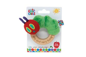 Eric Carle Tiny Caterpillar - Ring Rattle