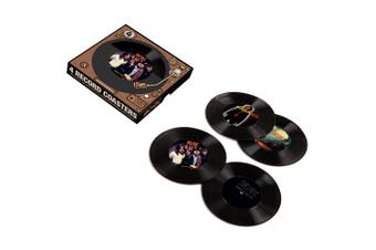 ACDC 45 Record Coasters