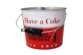 Coke Tin Beverage Bucket
