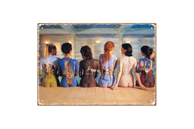Pink Floyd Back Art Tin Sign