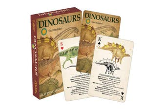 Smithsonian Dinosaurs Playing Cards