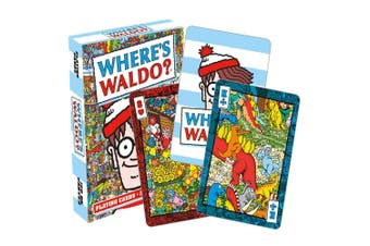 Where's Waldo Playing Cards
