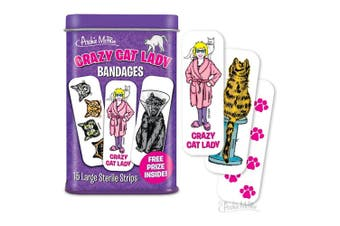 Archie McPhee Crazy Cat Lady Bandages