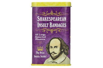 Archie McPhee Shakespearean Insult Bandages