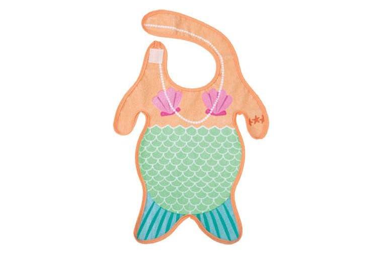 Gamago Baby Bib - Mermaid