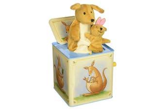 Schylling Jack in Box - Kangaroo