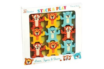 Schylling Little Classics Stack and Play Animals
