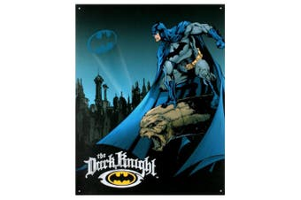 Batman the Dark Knight Retro Tin Sign