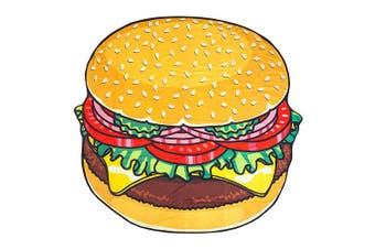 BigMouth Gigantic Beach Blanket - Burger