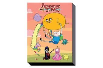 Adventure Time 60cm x 80cm Wall Art Canvas - Sunset