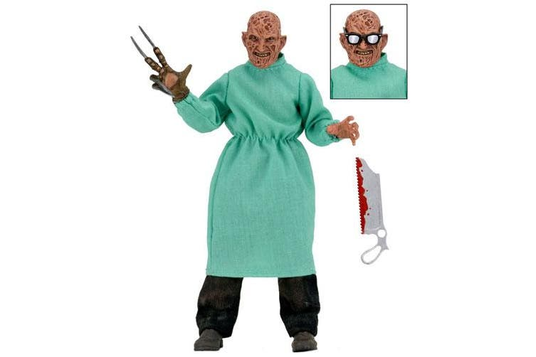 "A Nightmare on Elm Street Freddy Surgeon 8"" Action Figure"