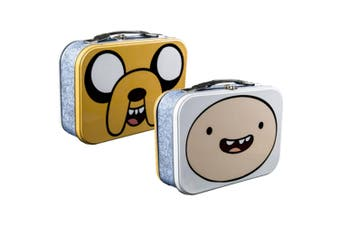 Adventure Time Jake & Finn Face Lunchbox