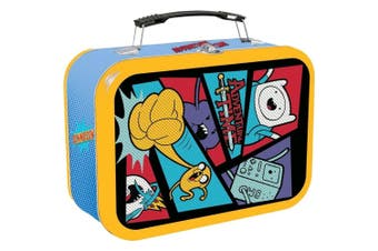 Adventure Time Comic Book Halftone Lunchbox