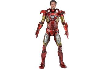 Avengers Iron Man Battle Damaged 1:4 Scale Action Figure