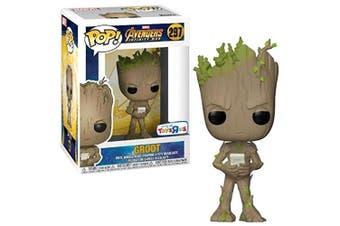 Avengers 3 Infinity War Teen Groot w/ Video Game US Pop!