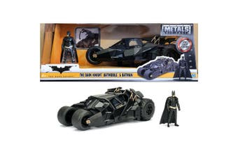 Batman Batmobile 2005 1:24 w/Batman