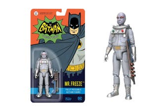 Batman (1966) Mr Freeze (with chase) Action Figure