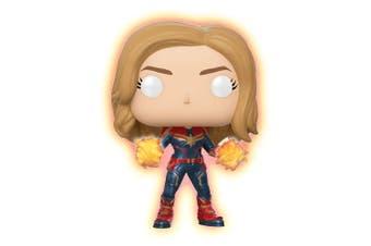 Captain Marvel Glow Hands US Pop! Vinyl