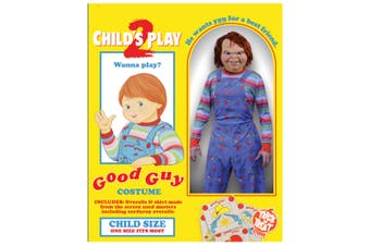 Child's Play 2 Deluxe Good Guy Costume Child