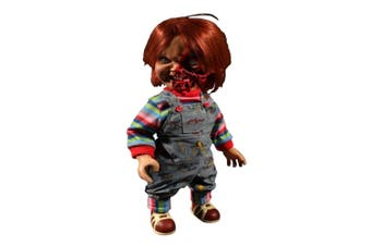 """Child's Play 3 Chucky Pizza Face 15"""" Talking Action Figure"""