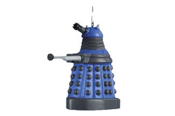 "Doctor Who 2.5"" Dalek (Blue) Blow Mold Christmas Ornament"