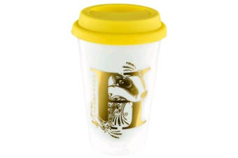 Harry Potter Hufflepuff Foil Logo Reusable Cup