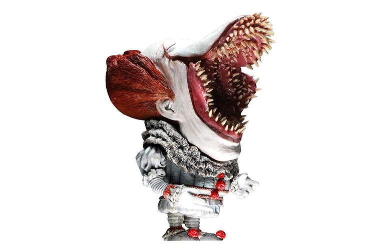 Dick Smith It 2017 Pennywise Scary With Light Soft Vinyl Figure Tv Movie Video Games Figures