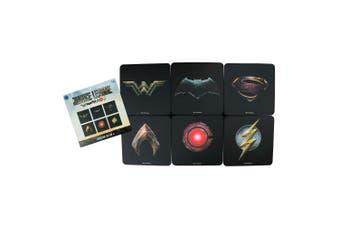 Justice League Movie Full Team Logo Coaster Set of 6