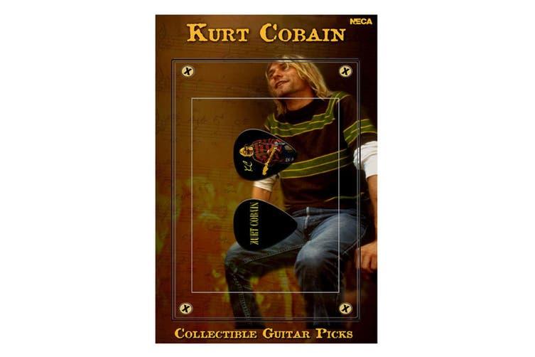 Kurt Cobain Guitar Pick #1 (Red Sweater)