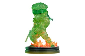 """Metal Gear Solid Solid Snake Stealth Green 8"""" PVC Statue"""