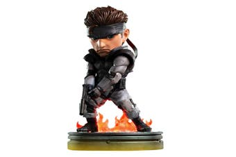 """Metal Gear Solid Solid Snake 8"""" PVC Statue"""
